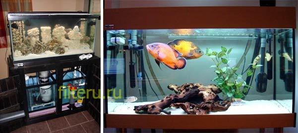 Как выбрать фильтр для аквариума 100-200 л