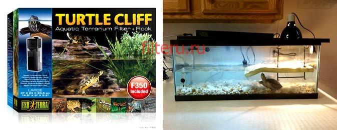 Фильтр для аквариума для красноухой черепахи