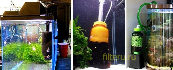 Как подобрать наилучший внутренний фильтр для очистки воды в аквариуме