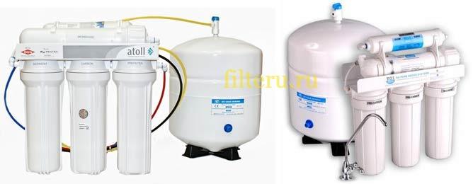 Лучшие фильтры для воды с обратным осмосом