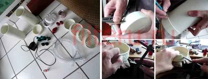 Как сделать дома внешний фильтр для аквариума