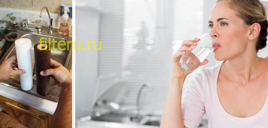 Использованные фильтры для воды — выбросить или оставить