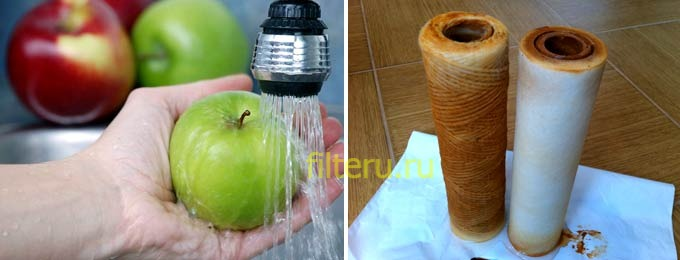 Магистральный фильтр для очистки воды от железа