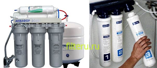 Ремонт фильтров для воды
