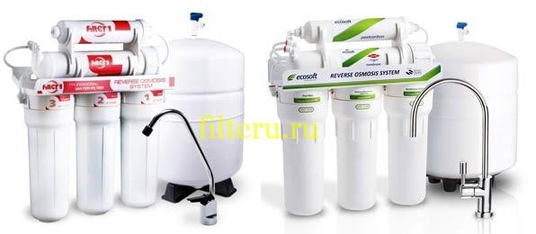 Система очистки воды с обратным сосмосом