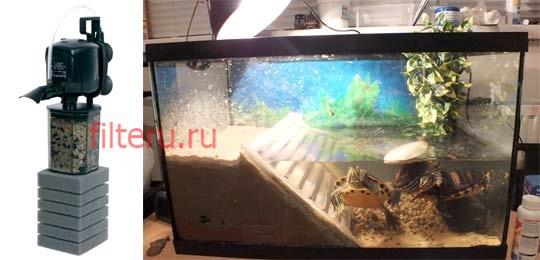 Виды фильтров для аквариумов с черепахами