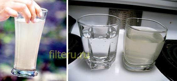 Что значит, если вода мутная после фильтра