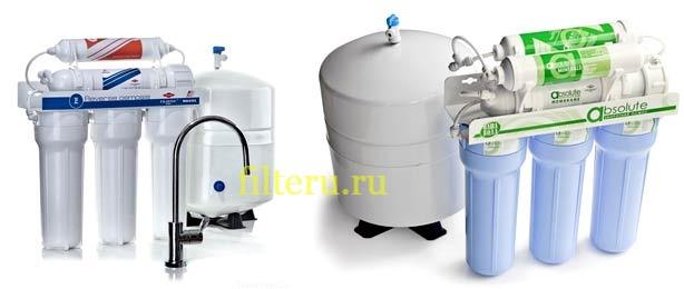 Фильтр с обратным осмосом для жесткой воды