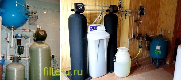 Фильтры для очистки проточной воды в доме и за городом в скважине