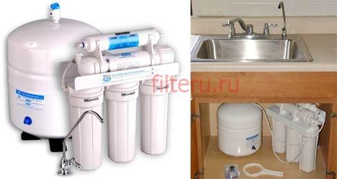 Виды бытовых фильтров для воды в дом или квартиру