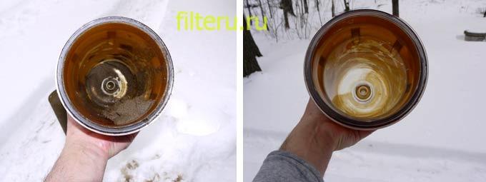 Замена фильтра воды Гейзер