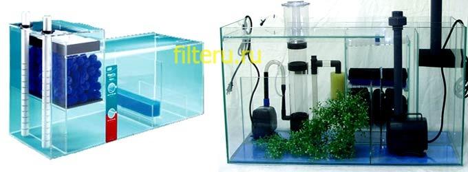 Как установить внутренний фильтр для воды в аквариум