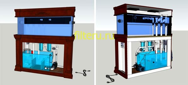 Инструкция, как установить внешний фильтр в аквариум