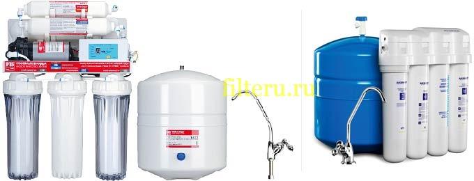 Фильтры для воды Аквафор осмос