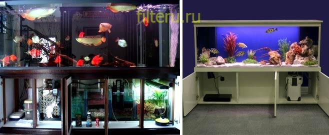Фильтры для больших аквариумов