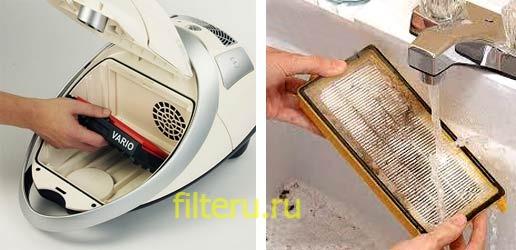 Какие существуют фильтры для пылесоса – виды и особенности