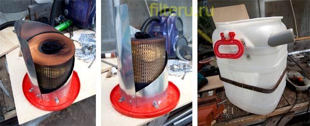 Как сделать фильтр для пылесоса томас своими руками 51