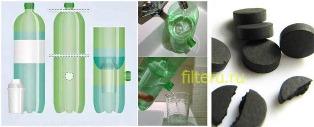 Как изготовить самодельный угольный фильтр для воды