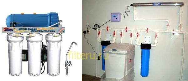 Какой выбрать фильтр для известковой воды из скважины