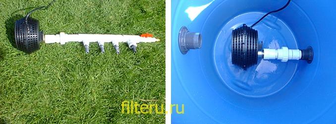 Как сделать фильтр для пруда своими руками