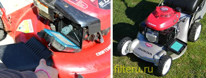 Принцип работы фильтра для газонокосилки