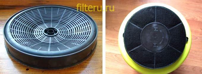 Где находится угольный фильтр в кухонной вытяжке