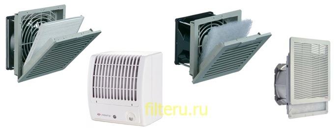 Вентиляторы с фильтром