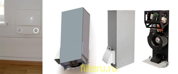 Виды вентиляторов с фильтрами