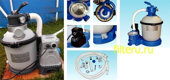 Как установить песочный фильтр для бассейна