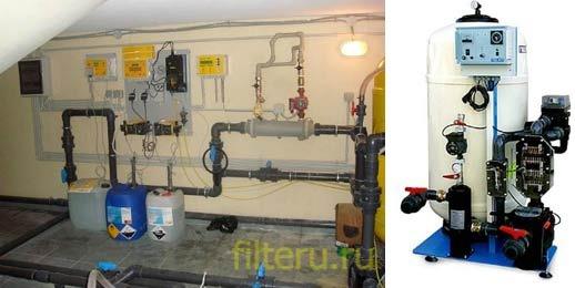 Комбинированные фильтры для очистки воды в бассейне