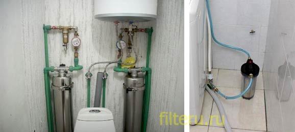 Виды фильтров для воды для стиральных машин