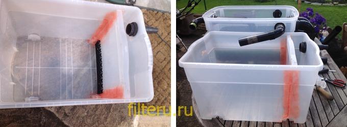 Делаем фильтр для пруда с рыбой своими силами