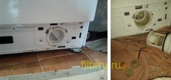 Фильтр слива для стиральной машины