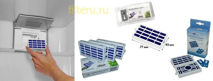 Виды фильтров для холодильников