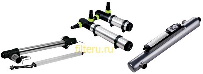 Ультрафиолетовые фильтры для пруда