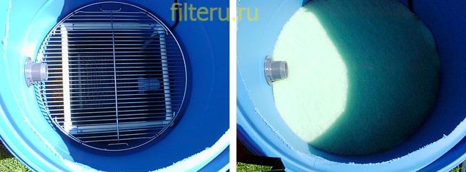 Как сделать фильтр для пруда самому