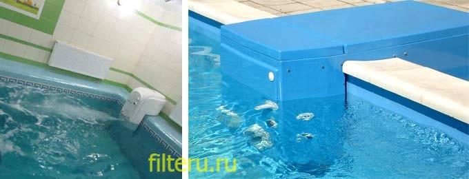 Навесной фильтр для бассейна