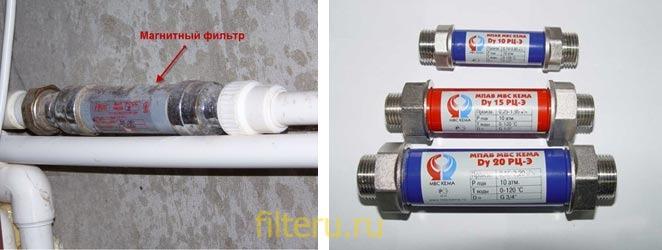 Как работает фильтр магнитный на воду