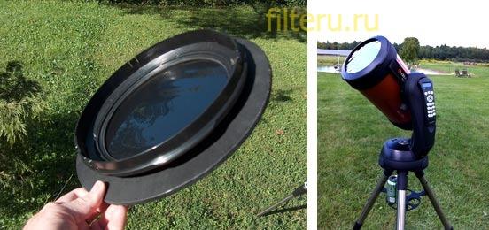 Оправы солнечного фильтра для телескопа