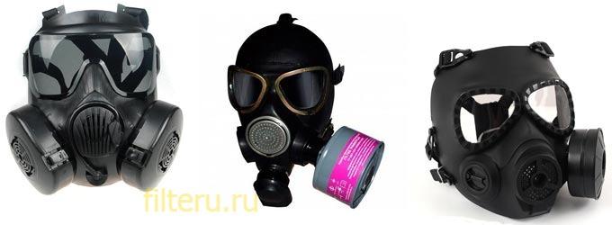 Принцип работы масок с угольным фильтром