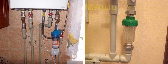 Как почистить газовый фильтр для котла и газовой колонки