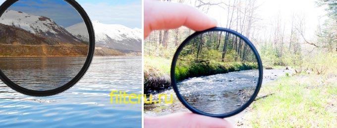 Нейтральные фильтры для фотообъектива
