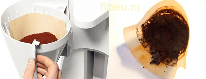 Фильтры для кофеварки своими руками