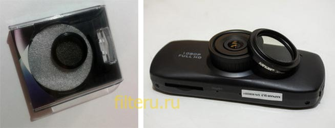 Поляризационный фильтр для видеорегистратора