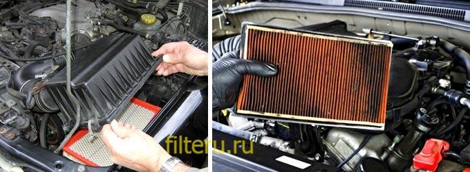 Зачем нужен воздушный фильтр в авто
