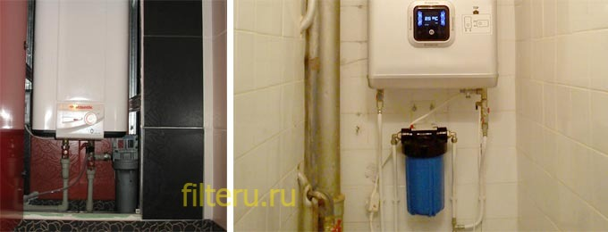 Фильтр воды для водонагревателей