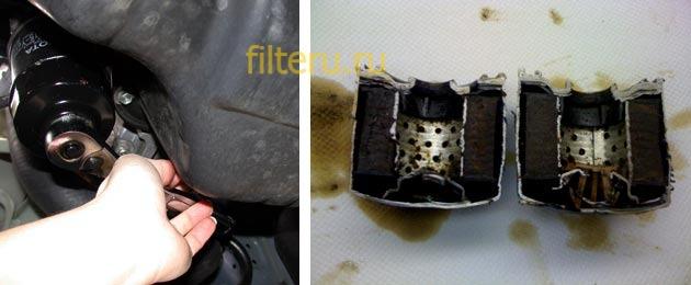 Какая периодичность замены масла и фильтра в автомобиле