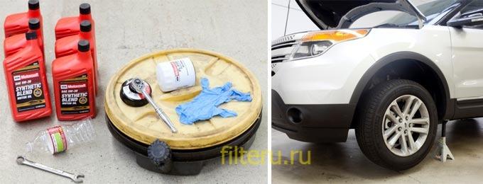 Как заменить масляный фильтр автомобиля своими руками