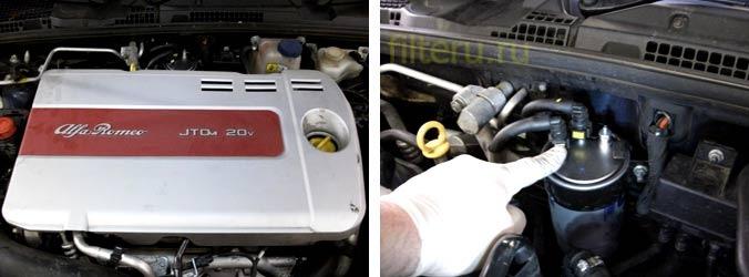 После замены топливного фильтра машина не заводится