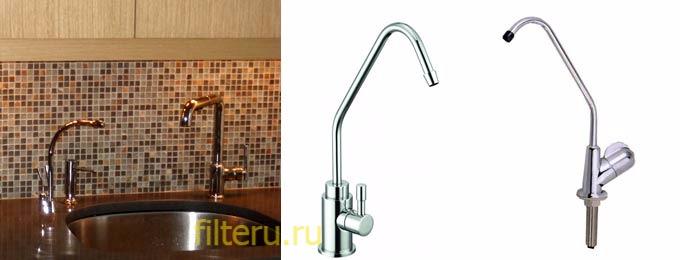 Что нужно знать при покупке смесителей на кухню с фильтром для воды